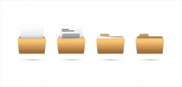 Realistic Folder Icons