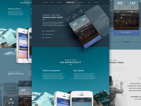 Responsive Marketing Website Design