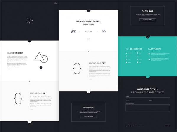 Responsive Personal Website Design