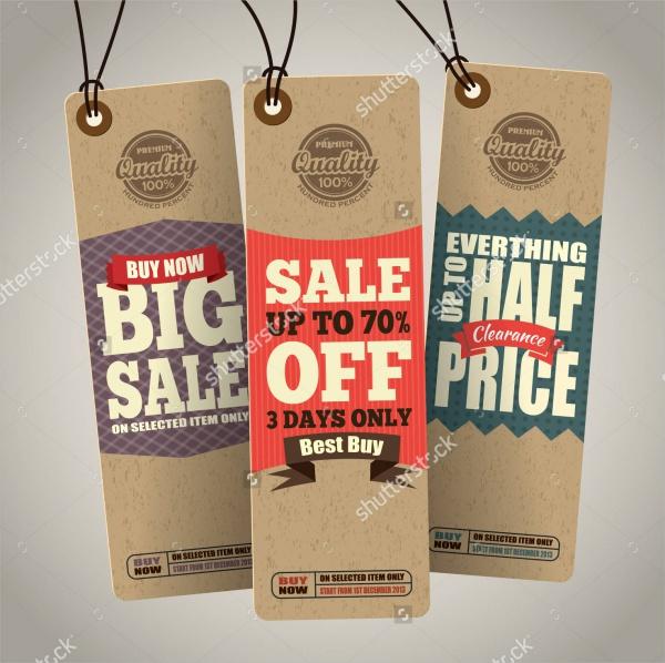 Sales Hang Tag