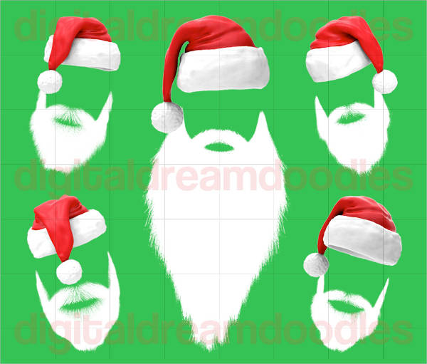 20+ Santa Cliparts - PSD, Vector EPS, AI Illustrator Download