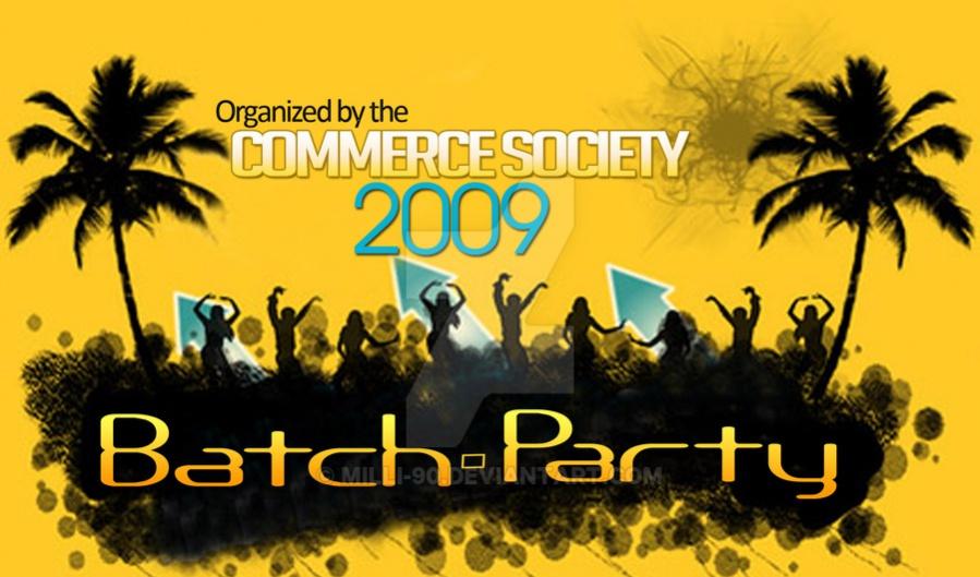 school party banner
