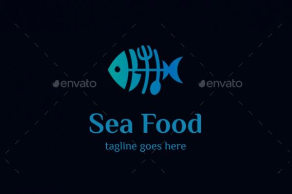 Sea Food Logo Design