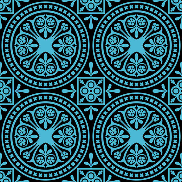 Seamless Floor Tile Pattern