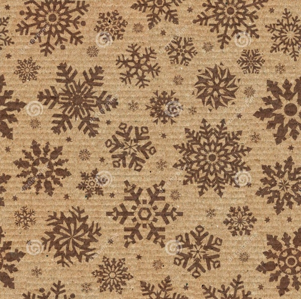 Seamless Snowflake Background Patterns
