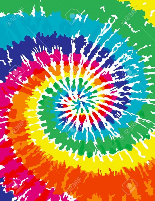 Seamless Tie Dye Pattern