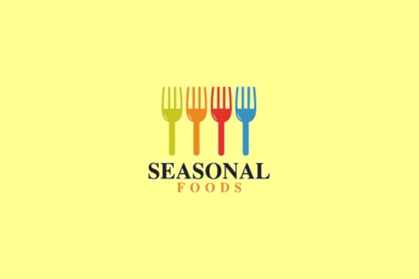 Seasonal Food Logo Design