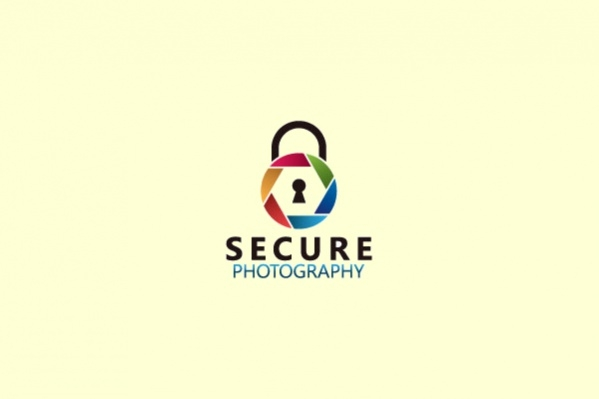 Security Service Photography Logo