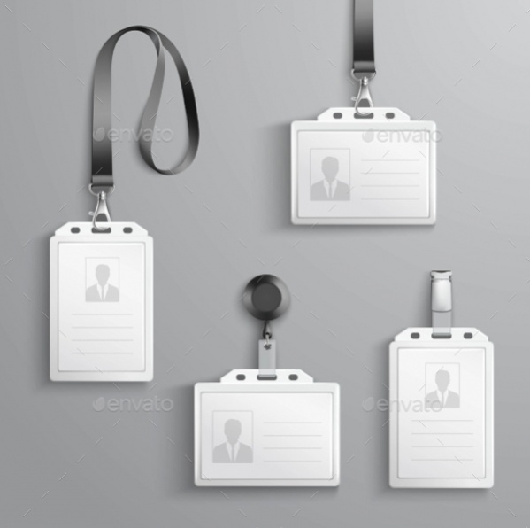 Set of Blank Id Cards