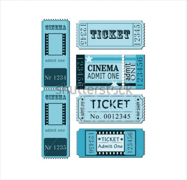 Set of Movie Tickets