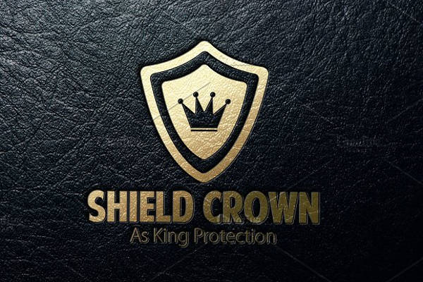 Shield Crown Logo