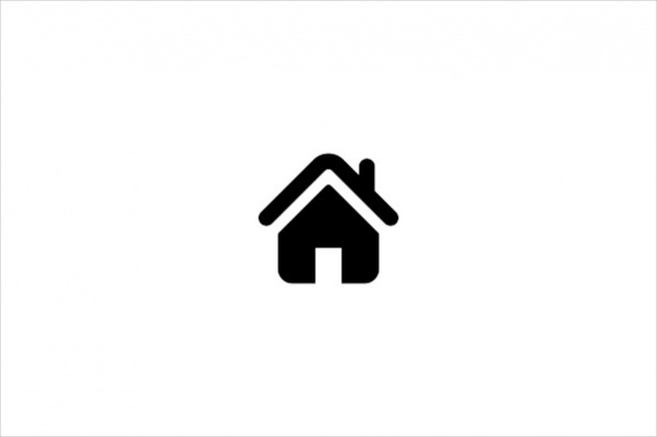 Silhouette Home Icon