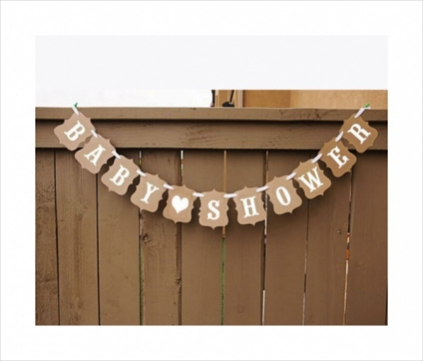 Simple Baby Shower Banner