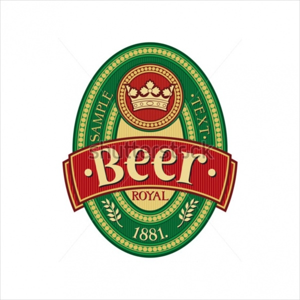 21 Beer Labels PSD Vector EPS Download – Beer Label