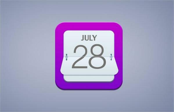 Simple Calendar Icon