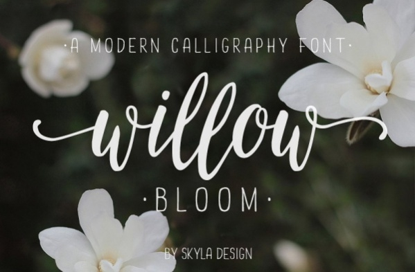 Simple Calligraphy Font