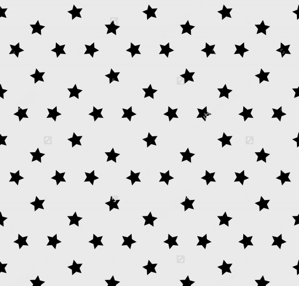 simple classic stars pattern