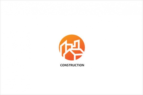 Simple Construction Logo Design