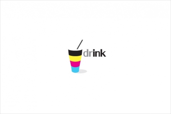 Simple Drink Logo Design