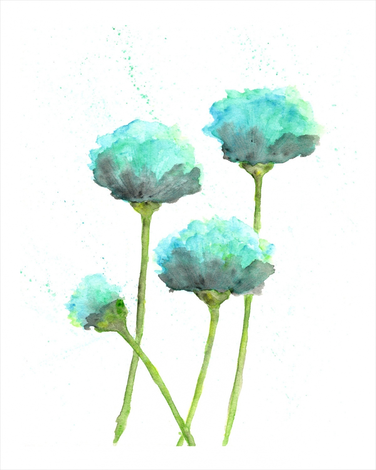 Simple Flower Painting