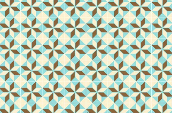 Simple Geometric Tiles Pattern