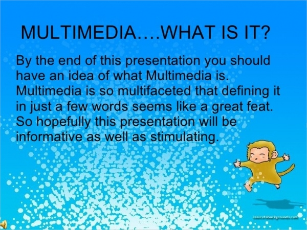 Simple Multimedia Presentation