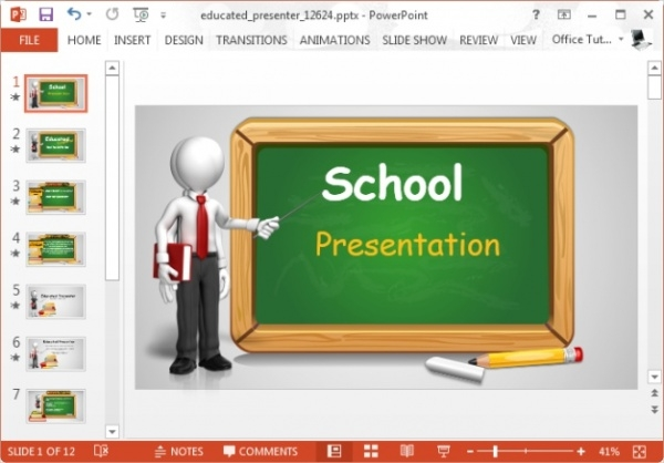 Simple School Presentation