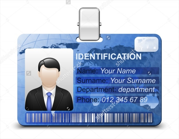 Simple Security Id Card