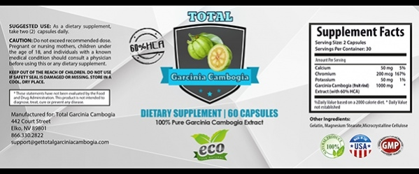 Simple Supplement Label