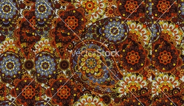 Simple Traditional Paisley Pattern