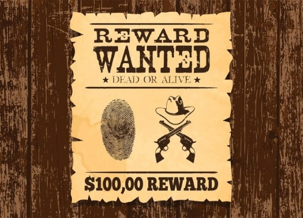Simple Wanted Poster