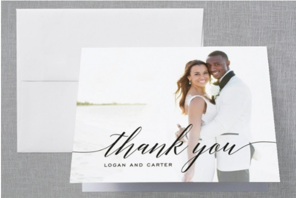 17 Wedding Thank You Card Designs PSD Vector EPS Download – Simple Wedding Thank You Cards