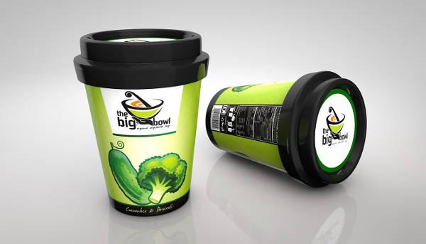soup packaging design