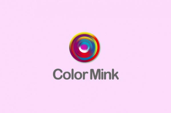 Spiral colorful target Logo
