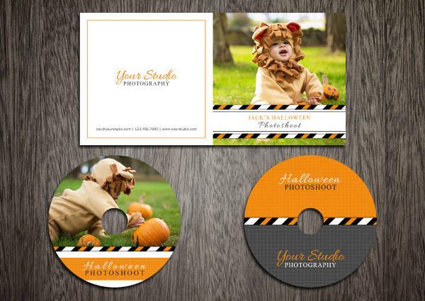 Spooky Halloween CD Label