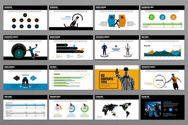Sports Presentation Designs