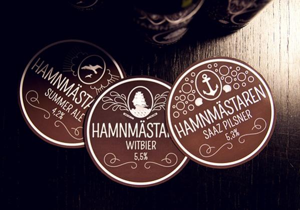 Summer Beer Label