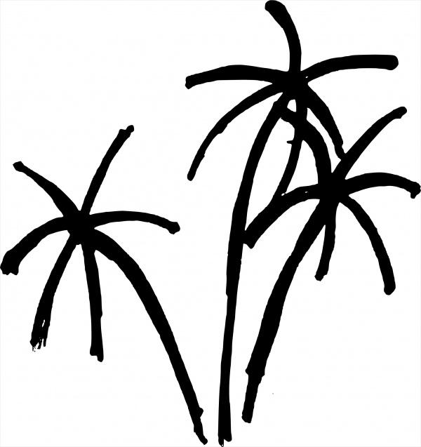 Summer Palm Tree Clip Art