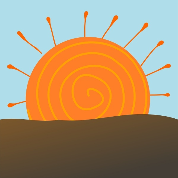 Sun Rise Clipart