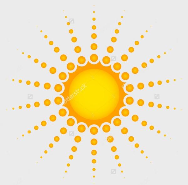 Sun Vector Clipart