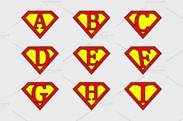 Super Alphabet Letters