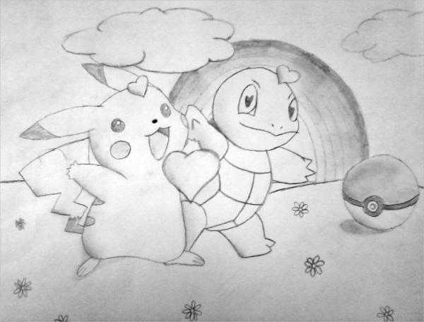 Surreal Pokemon Drawing