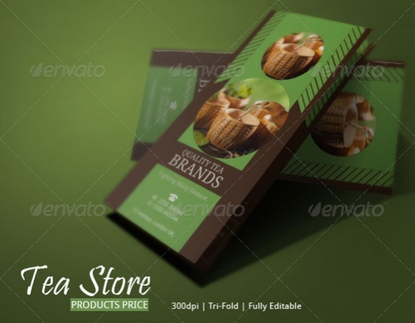 Tea Brochure Design