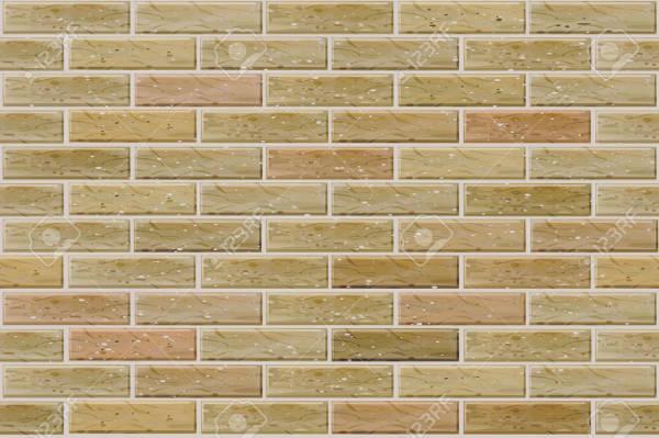 Transparent Brick Wall Pattern