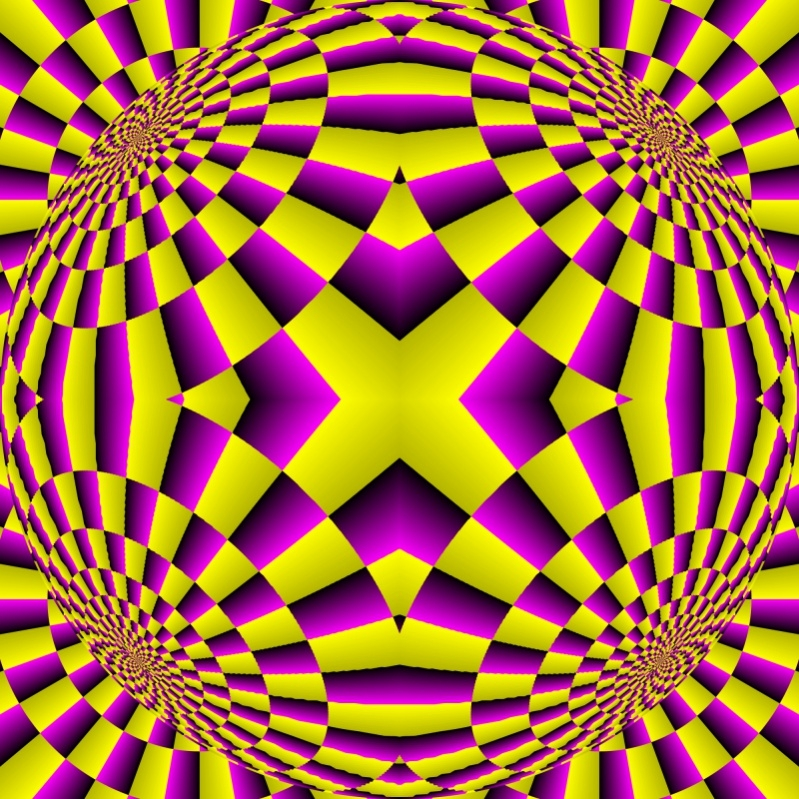 Fully Editable Trippy Pattern