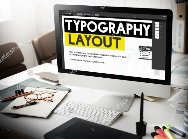 Typography Layout Responsive Design