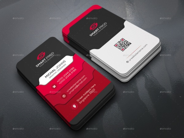 Unique Graphic Design Business Card