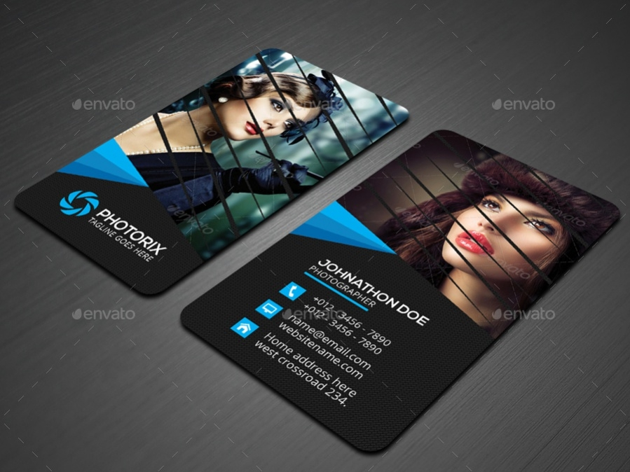 Unique Photography Business Card