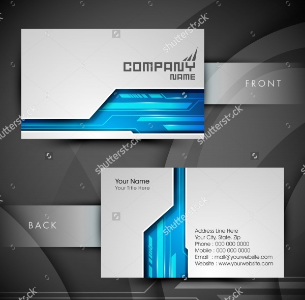 Unique Professional Business Card