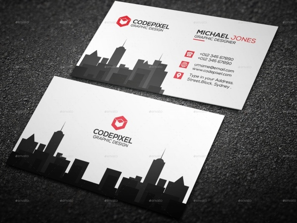 Unique Real Estate Business Card